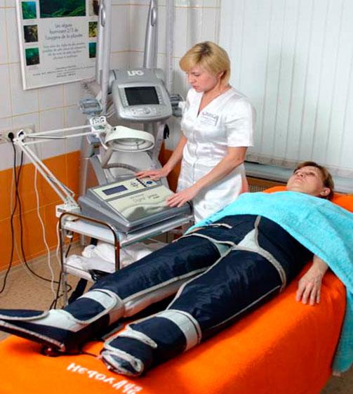 Прессотерапия. Коррекция фигуры