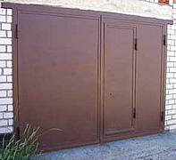 двери металлические гаражные ворота город волоколамск