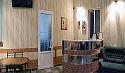 рецепция гостиницы Атриум в Мелитополе