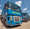 автопарк транспортной компании в Одессе