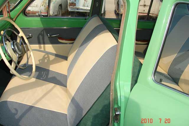 Перетяжка и ремонт сидений